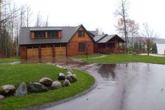 Amazing Northern Michigan Homes: Walloon Lake Log Home - Northern Michigan's News Leader