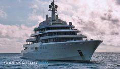 Luxury Motor Yacht Eclipse by Blohm + Voss Shipyards