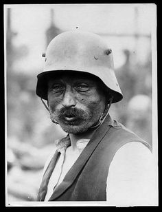 German soldier POW, 1918.