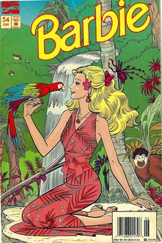 Barbie comic book cover