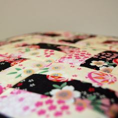 Quilted Oriental Cushion Cover
