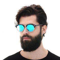 d760293b8b luxury Designer Polarized Aviation Round Sunglasses Men Vintage Retro  Glasses Women Driving Metal Eyewear