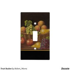 Fruit Basket Light Switch Covers