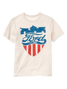 """Ford"" t shirt !!!!  Food™ All-American graphic T"