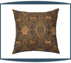 Evans Decorative Pillows in Copper by Michael Amini