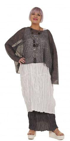 Rundholz Black Label Oversized Linen Blend Fine Knit