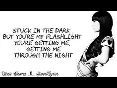Jessie J - Flashlight (Lyrics On Screen) - YouTube