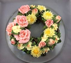 Floral Wreath  - Cake by Louis Ng