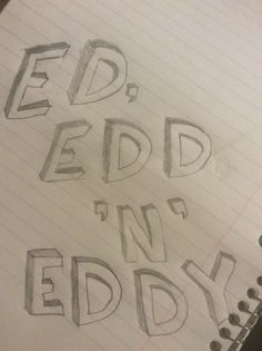 I'm watching Ed, Edd 'n' eddy so I drew this.. Yeah... Once again if re-pinned we would appreciate it if you would give us credit -marley gonzalez