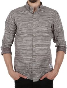 La Banda LS Shirt [charcoal] // IRIEDAILY Spring Summer 2015 Collection! - OUT NOW! // SHIRTS - MEN: http://www.iriedaily.de/men-id/men-shirts/ // LOOKBOOK: http://www.iriedaily.de/blog/lookbook/iriedaily-spring-summer-2015/ #iriedaily