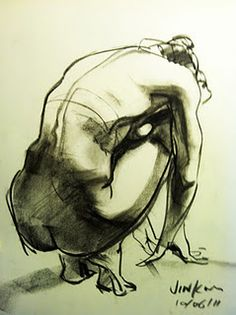 Another life drawing from Jin Kim