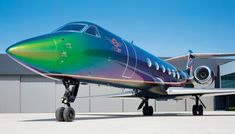 """High Art"": A Totally New Meaning with Custom Private-Jet Exteriors 