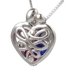 So unique! Mother and child heart locket ~ add your family birthstones inside.  ♥ Loving Family® Small Sterling Silver Mother's Heart Birthstone Locket with Set of 12 Birthstones. $39.99