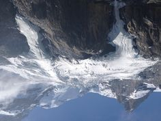 Glaciers near Kandersteg Switzerland.