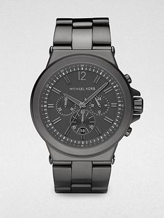 bcb9f25af220 Michael Kors Stainless Steel Chronograph Watch  275.00 thestylecure.com  Marken Outlet