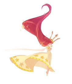 Child of light, Illustration by Mayumi Nose: - Art - Child Of Light, Fantasy Kunst, Fantasy Art, Disney Drawings, Art Drawings, Drawing Disney, Grafik Design, Character Design Inspiration, Art Reference