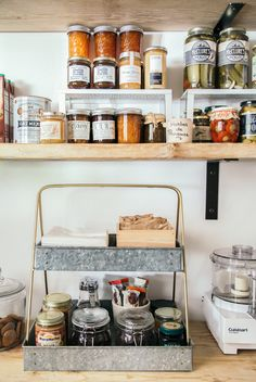 Organizing the Pantry Kitchen Pantry, Kitchen Storage, Kitchen Decor, Organized Kitchen, Kitchen Ideas, Seagrass Storage Baskets, Spice Drawer, Pantry Organization, Pantry Ideas