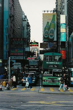 Streets of Hong Kong - Hong Kong.