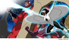 Avengers: Earth's Mightiest Heroes Artwork Shows a Deeper Dive into the Marvel Universe - What's A Geek Character Concept, Concept Art, Character Design, Captain Marvel, Marvel Avengers, Avengers Earth's Mightiest Heroes, Die Rächer, Hero Time, Marvel Characters