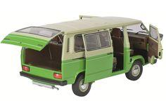 VW T3 Bus, grün-beige