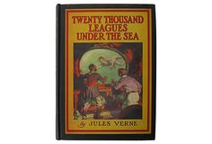 Twenty Thousand Leagues Under the Sea      between Sailboat Bookends