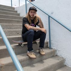 Skating royalty Riley Hawk has teamed up with Lakai for the ultimate skate style collab.