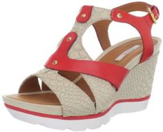 4baf5d878e36 Geox Women s Sophie1 Sandal Geox.  160.00. Made in China. leather. Manmade  sole