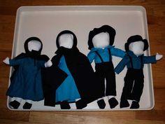 amish doll family