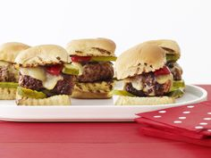 Sliders Recipe : Food Network Kitchens : Food Network - FoodNetwork.com