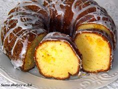 Sama słodycz u Asi : Babka serowa z pomarańczą Sweet Recipes, Cake Recipes, Dessert Recipes, Bunt Cakes, Different Cakes, Polish Recipes, Pumpkin Cheesecake, Yummy Cakes, Food Photo