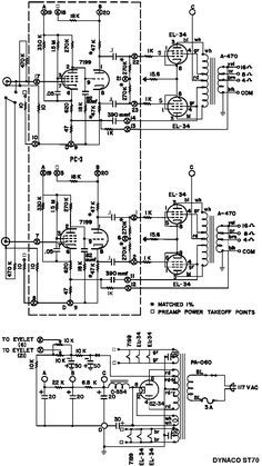 Dynaco ST-70 7199/EL34PP