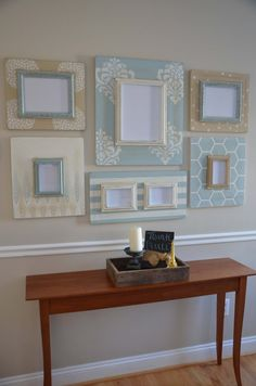 Inspired by the cool neutral colors of the south - loving our new 6 piece Charleston Collection. Set includes the perfect mix of picture sizes, Frame Crafts, Diy Frame, Diy Home Decor, Room Decor, Wall Decor, Plywood Furniture, Plywood Floors, Kid Furniture, Laminate Flooring