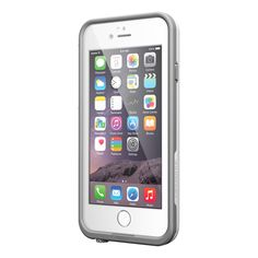 White / Gray LifeProof iPhone 6 Case