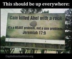 Guns Are Not The Problem
