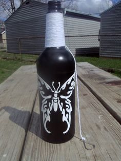 Incense Bottle Burner Butterfly by mamabearsincense on Etsy.