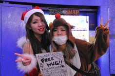 渋谷のサンタのコスプレ写真5