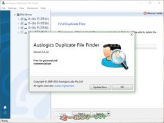 Auslogics Duplicate File Finder 5.0.2.0  Auslogics Duplicate File Finder--バージョン情報--オールフリーソフト