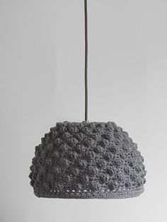 CROCHETED LAMPS BY DÉSACCORD