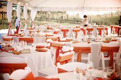 Tented event Wedding Reception