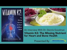 Vitamin K2 Benefits: The Missing Nutrient for Heart and Bone -  A recent study found statins may increase calcification in the arteries; another found statins deplete your body of vitamin K2, suggesting this may be a mechanism by which statins harm your heart The quartet of calcium, vitamin D, K2, and magnesium all work together synergistically, and should ideally be taken in combination