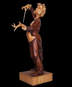 Maestro by Fred Zavadil - Wood Carving by a world class carver