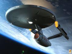I updated my Phase II Enterprise model for a special project. Model by me Background by NASA The untold Star Trek Enterprise, Star Trek Voyager, Enterprise Model, Star Trek Starships, Star Trek 1, Star Trek Reboot, Star Trek Ships, Star Trek Beyond, Star Trek Original