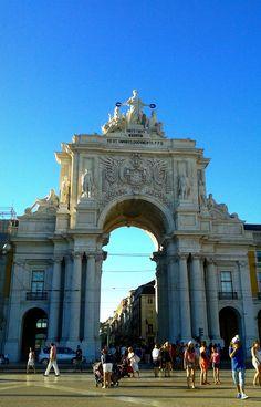 Arco de rua Augusta #lisbon #travel #arc