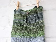 Baby & Toddler Clothing Handmade Knitted Baby Girl Green Seamless Long Sleeved Cardigan 12-18 Months