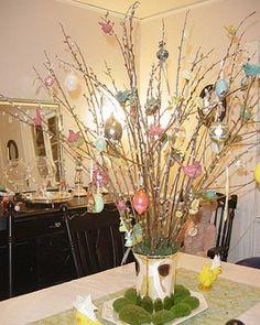 marth stewart easter egg tree | Easter Tree