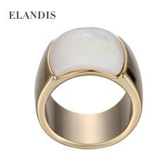 Shell natural señor de los anillos grandes para las mujeres y los ...