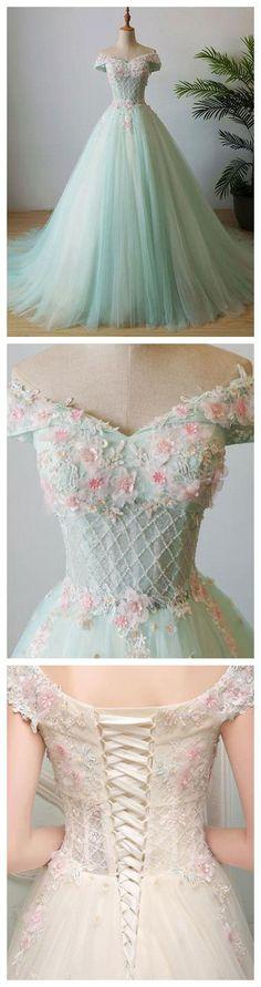 vestidos para 15 color menta (5)