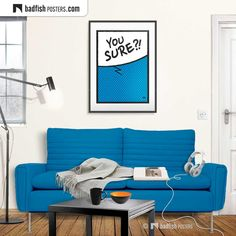 Student Room, Do It Yourself Furniture, Jeff Bridges, Cyan Blue, Poster Prints, Art Prints, Alternative Movie Posters, Comic Styles, Cool Posters