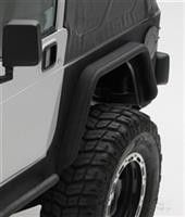 Part Number: 76879 Fits 1976 to 1986 CJ5 and CJ7 Powder coat black for immediate use or can be painted To be used with Smittybilt XRC Corner Guards 100% steel construction for extra durability XRC Fen