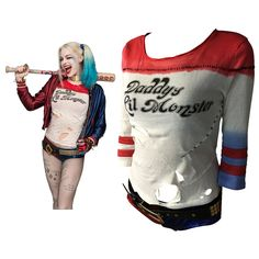 Harley Quinn Costume T Shirt Daddy's Lil Monster  $46 and FREE shipping  Get it here --> https://www.herouni.com/product/harley-quinn-costume-t-shirt-daddys-lil-monster/  #superhero #geek #geekculture #marvel #dccomics #superman #batman #spiderman #ironman #deadpool #memes